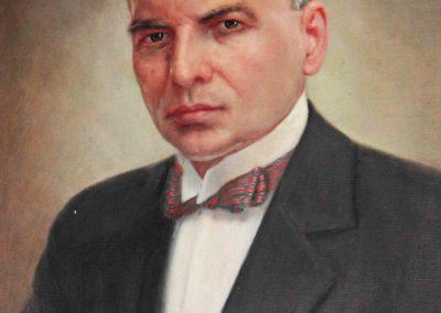 Los Académicos fundadores: Dr. Celestino Farrera