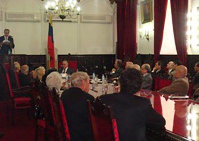 El 07 de junio de 2011 se realizó en la Sesión Ordinaria la presentación de la obra: El derecho y el revés de la contabilidad, del Dr. Humberto Romero-Muci