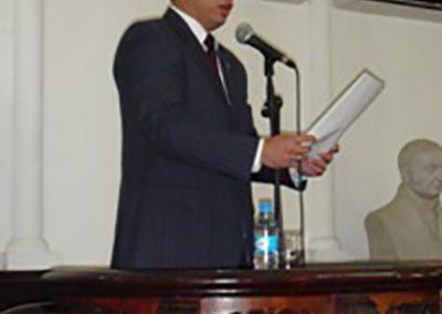 El 21 de junio de 2011 se realizó en la Sesión Ordinaria la entrega del premio de la Academia de Ciencias Políticas y Sociales 2010-2011