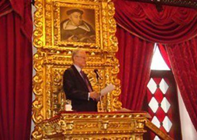 El 19 de julio de 2011 se realizó en la Sesión Solemne el Acto de Incorporación Académica del Dr. José Guillermo Andueza