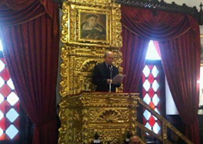 El 20 de septiembre de 2011 se realizó en la Sesión Solemne el Acto Homenaje al Dr. José Mélich Orsini