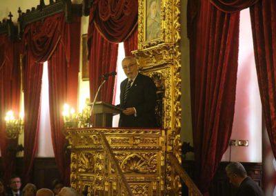 El 06 de diciembre de 2018 se realizó en Sesión Solemne el Acto de Incorporación del Dr. Ramón Guillermo Aveledo. Sillón N° 15