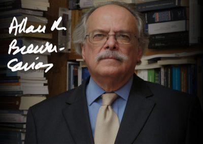Acuerdo de Júbilo al académico Allan Brewer-Carías