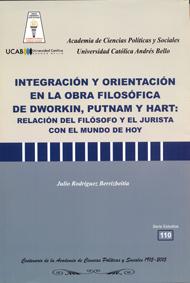 Integración y orientación en la obra filosófica de Dworkin, Putnam y Hart