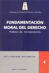 Fundamentación moral del Derecho