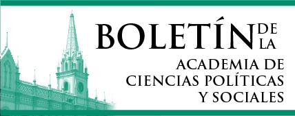Consulte en pantalla el texto completo del Boletín de la Academia de Ciencias Políticas y Sociales.