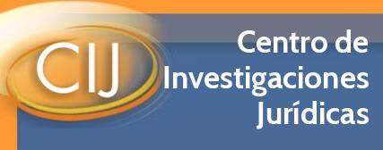 Centro de Investigaciones Jurídicas.A través de este portal usted tendrá acceso al contenido de recientes trabajos del Centro de Investigaciones Jurídicas. Así mismo podrá conocer los proyectos en desarrollo y diversos enlaces e información de interés