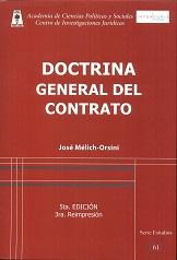 Doctrina general del contrato