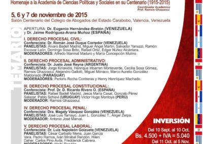 """XVIII Jornadas Centenarias Internacionales """"Derecho Procesal: Reforma, Realidad y Perspectivas"""""""