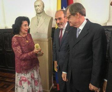 El día 01 de octubre de 2019, se realizó la entrega de Acuerdo de Júbilo a la Dra. Ana Lucina García Maldonado, Presidente de la Federación Latinoamericana de Abogadas
