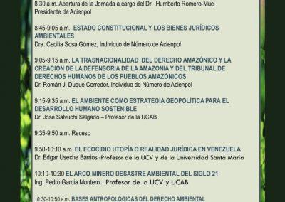 Primeras Jornadas de Derecho Ambiental en homenaje al Prof. Henrique Meier Echeverría