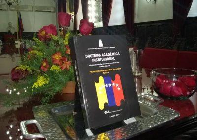 """El 29 de octubre de 2019 se presentó la obra """"Doctrina Académica Institucional (Instrumento de reinstitucionalización democrática) Pronunciamientos años 2012-2019. Tomo II"""